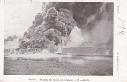 ANVERS, Belgium, 1904; Incendie Des Reservoirs A Petrole - Antwerpen