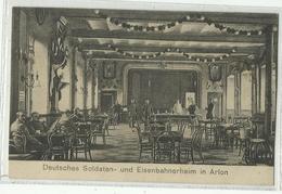 ARLON - Buffet De La Gare - Soldats Allemands - Arlon