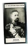 CHROMO IMAGE 2eme COLLECTION FELIX POTIN CELEBRITES NICOLAS GRAND DUC DE RUSSIE - Félix Potin