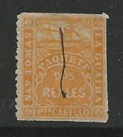 Battello 1869 - SAN TOMAS - La GUAIRA - P.to CABELLO - PAQUETE - Posta Privata - L. 1647 C - Curacao, Netherlands Antilles, Aruba