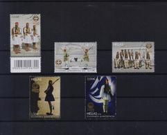 GREECE STAMPS 2018 PRESIDENTIAL GUARD -12/12/18-USED-COMPLETE SET - Grecia