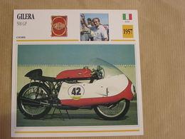 GILERA 500 GP Grand Prix Italie Italia 1957 Moto Fiche Descriptive Motocyclette Motos Motorcycle Motocyclette - Non Classés