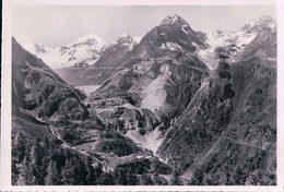 Grande Dixence VS, Chantiers Du Barrage En 1956 (5689) 10x15 - VS Valais