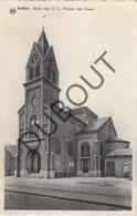 Postkaart-Carte Postale KALFORT / Puurs Sint Amands Kerk Van OLV Ten Traan (O609) - Puurs