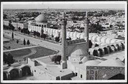 IRAN - ISFAHAN - PIAZZA DELLO SCIA' - FORMATO PICCOLO - VIAGGIATA 1959 FRANCOBOLLO ASPORTATO - Iran