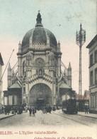 +++ CPA - BRUSSEL - BRUXELLES - Eglise Ste Marie - Tram - Couleur 1903   // - Brussel (Stad)