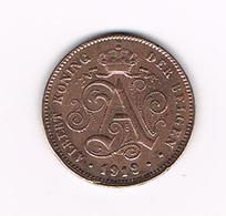00  ALBERT I  - 2 CENTIEM 1919 VL - 1909-1934: Albert I