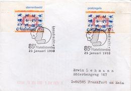 1998 Gelegenheidsstempel Loosdrecht Op Brief Naar Frankfurt Am Main - Briefe U. Dokumente