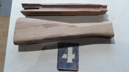 Lot 4 épure De Crosse Et De Fut Pour Fusil Lebel 1886 R35 - Other