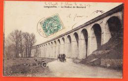 X77233 LONGUEVILLE (77) Tricycle à Moteur Viaduc De BESNARD 1907 à SEBASTIEN 76e De LignePlace République Paris-VERNANT - Autres Communes