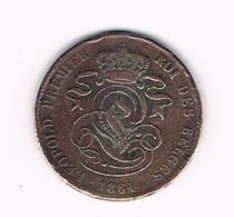 00  LEOPOLD I   2 CENTIEM   1864 - 02. 2 Centimes