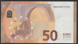 50 EURO PORTUGAL  MD  M001  -  DRAGHI   UNC - 50 Euro