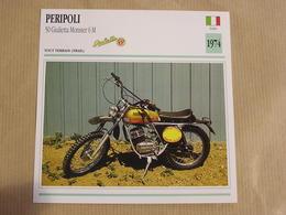 PERIPOLI 50 Giulietta Monster Italie Italia 1974  Moto Fiche Descriptive Motocyclette Motos Motorcycle Motocyclette - Sammelkarten, Lernkarten
