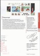 PZ.- Pro-Fil 13/99. MANNEN OP DE MAAN. 8 OKTOBER 1999. Strippostzegels Olivier B. Bommel. Suske En Wiske En Jan, Jans .. - Ruimtevaart