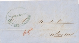 Nederlands Indië - Complete EO-vouwbrief Van SAMARANG/ ONGEFRANKEERD Naar Batavia - Nederlands-Indië