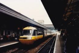 AL52 Railway Photograph - Intercity Train At Unidentified Railway Station - Trains