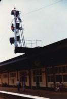 AL52 Railway Photograph - Railway Signal And Station Platform - Trains
