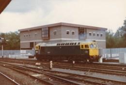 AL52 Railway Photograph - British Rail Diesel Locomotive - Trains