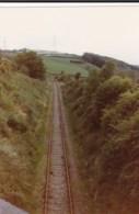 AL52 Railway Photograph - Railway Track In An Embankment - Trains