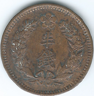 Korea - Japanese - Gwang Mu - 1906 (Year 10) - ½ Chon - KM1124 - Corea Del Norte