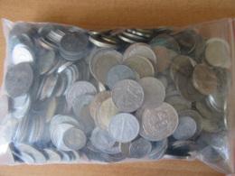 France / Europe / Monde - Vrac De Plus De 2,5 Kg De Monnaies Modernes - Dont Qqles 19e Et Argent - Monnaies & Billets