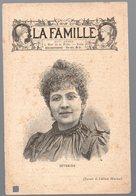 Portrait De SEVERINE  Pour L'hebdomadaire LA FAMILLE  (PPP18005E) - Publicités