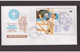 Ghana - 6 7 1995   Fdc Scout - Non Classificati