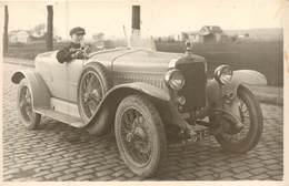 """Automobile -  Carte Photo Voiture Delage """" Torpédo"""" Type DI 1922 Réf 6138 - Voitures De Tourisme"""