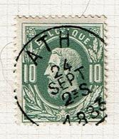 30  Obl  Sc  Ath + 2 - 1869-1883 Léopold II