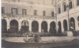 VENEZIA-MERCATO DEGLI ORTAGGI VISTO DAL CANAL GRANDE-CARTOLINA VERA FOTOGRAFIA NON VIAGGIATA DATATA 30-3-1921 - Venezia (Venice)