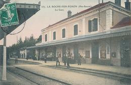 LA ROCHE SUR FORON - N° 357 - LA GARE - La Roche-sur-Foron