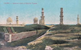 AQ24 Cairo, General View Of Khalifs Tombs - Cairo
