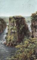 AQ24 The Gorge Below Victoria Falls - Rhodesia Railways Postcard - Zimbabwe