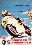 @@@ MAGNET - Nagrada Primorske, 1966 Motorcycle - Advertising