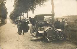 Automobile -  Carte Photo  Accident Le 30-07-1912 Dans La Côte Bleuette (voir Verso ) Réf 6142 - Turismo