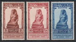 Egypt - 1927 - ( Statistical Congress, Cairo ) - MH* - Egypt