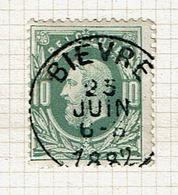 30  Obl  Sc  Bievre  + 8 - 1869-1883 Léopold II