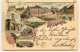 KOSICE - Üdvözlet Kassarol - Multi-vues - Gruss - 1897 - Slovakia