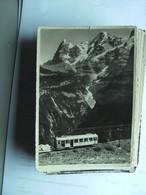 Zwitserland Schweiz Suisse BE Murrenbahn Mit Zug - BE Berne