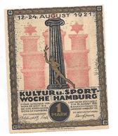 **notgeld  Hamburg  1 Mark  539.1c - [11] Emissions Locales