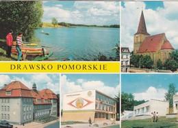 CARTOLINA - POSTCARD - POLONIA -  DRAWSKO POMORSKIE - VIAGGIATA PER ITALY ( ITALIA) - Polonia