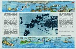 # Uganda 1992**Mi.1029-38 50th Anniversary Of The Japanese Attack On Pearl Harbor , MNH [20;25] - 1. Weltkrieg