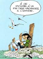 André FRANQUIN - Gaston LAGAFFE - Editions Dalix N'48 - Mouettes - Comicfiguren