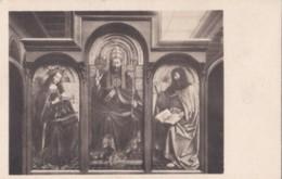 AS36 Art Postcard - Ldoration De L'Agneau Mystique By Van Eyck - Paintings