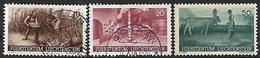 Liechtenstein  1941  Sc#166-7 Used & 169 MH   2016 Scott Value $3.95 - Liechtenstein