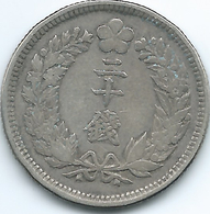 Korea - Japanese - Gwang Mu - 1906 (Year 10) - 20 Chon - KM1128 - Corea Del Norte