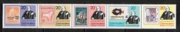 CHRISTMAS ISLAND  Scott # 90 A-E** VF MINT NH SE-TENNANT STRIP Of 5 (Stamp Scan # 483) - Christmas Island