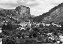 04-CASTELANE- VUE GENERALE LA ROUTE NAPOLEON - Castellane