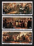 AITUTAKI  Scott # 124-6** VF MINT NH SE-TENNANT STRIPS Of 3 (Stamp Scan # 483) - Aitutaki