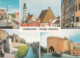 CARTOLINA - POSTCARD - POLONIA - WAESZAWA - VIAGGIATA PER ITALY ( ITALIA) - Polonia